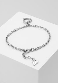 Guess - HEARTED CHAIN - Bransoletka - silver-coloured - 2