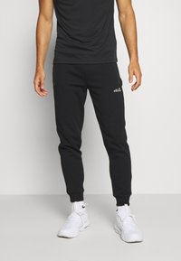 Ellesse - OSTERIA - Tracksuit bottoms - black - 0