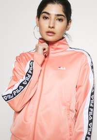 Fila Petite - TAOTRACK JACKET - Training jacket - lobster bisque/bright white - 4