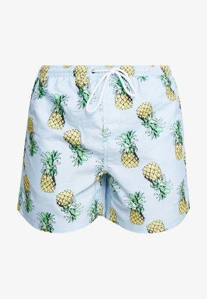 SANGRIA - Swimming shorts - blue/yellow
