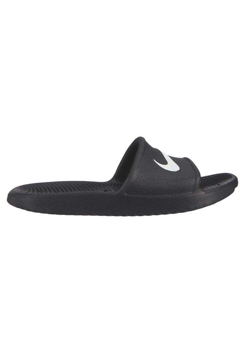 Nike Performance - KAWA SHOWER - Pool slides - schwarz / weiss (910)