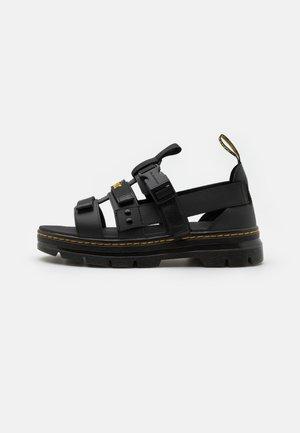 PEARSON UNISEX - Sandals - black