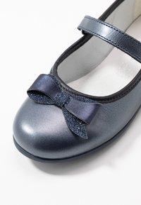Melania - Ballerine con cinturino - blue - 2