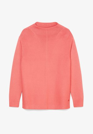 STRUCTURE MIX TURTLENECK - Jumper - hazy peach