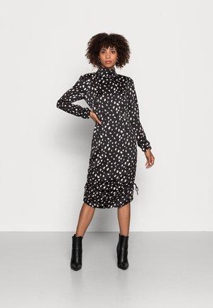 LAURIE DRESS - Jurk - black/white