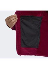 adidas Performance - Zip-up hoodie - burgundy - 7