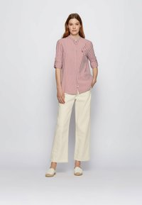 BOSS - BEFELIZE - Button-down blouse - red - 1