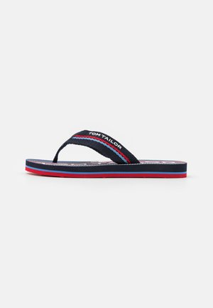 Teensandalen - navy/red