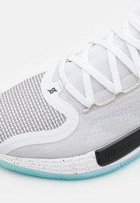 adidas Performance - ROSE 11 - Basketball shoes - footwear white/core black/orbit grey - 5