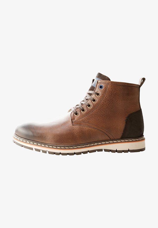MYKEN - Veterboots - dark brown