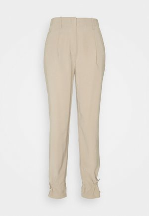 LUCILLE MAVIS PANT - Trousers - roasted grey khaki