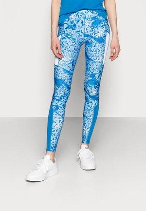 ONPANGILIA LIFE TRAINING TIGHT - Leggings - imperial blue/white