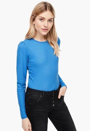 Long sleeved top - cornflower blue
