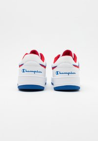 Champion - SHOE REBOUND - Chaussures de basket - white/royal blue/red - 2