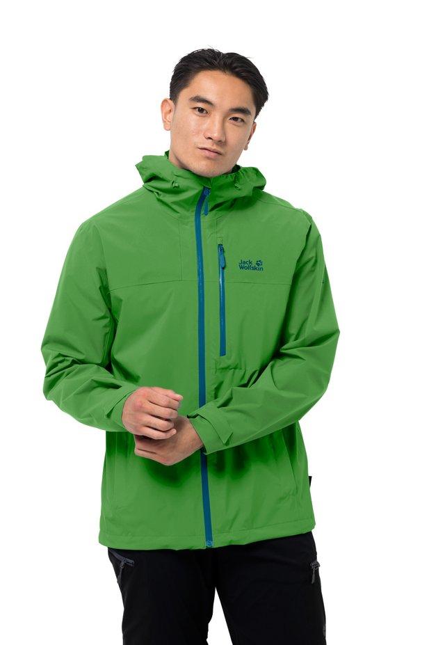 GO HIKE  - Hardshell jacket - basil green