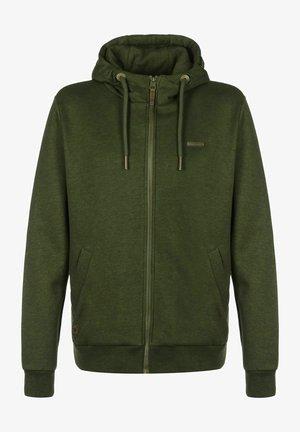 Zip-up sweatshirt - olive