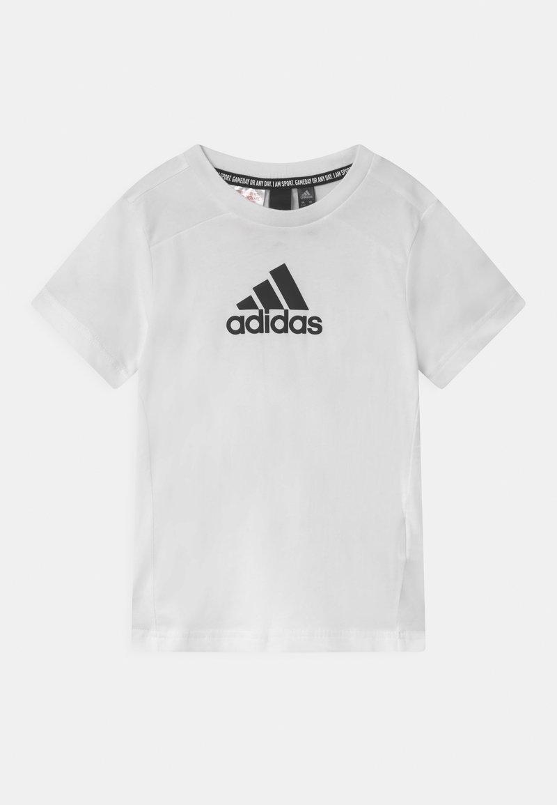 adidas Performance - UNISEX - Triko spotiskem - white/black
