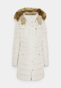 TOM TAILOR - SIGNATURE PUFFER COAT - Winter coat - dusty alabaster - 0
