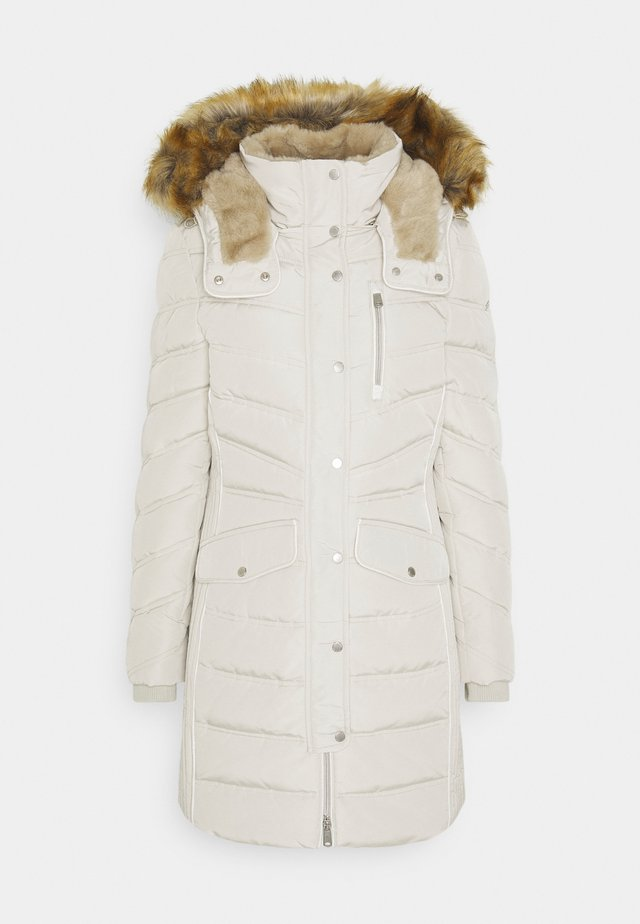 SIGNATURE PUFFER COAT - Cappotto invernale - dusty alabaster