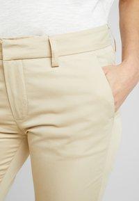 Mos Mosh - ABBEY COLE PANT - Kalhoty - safari - 3