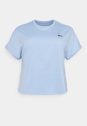 PLUS - Basic T-shirt - aluminum/black