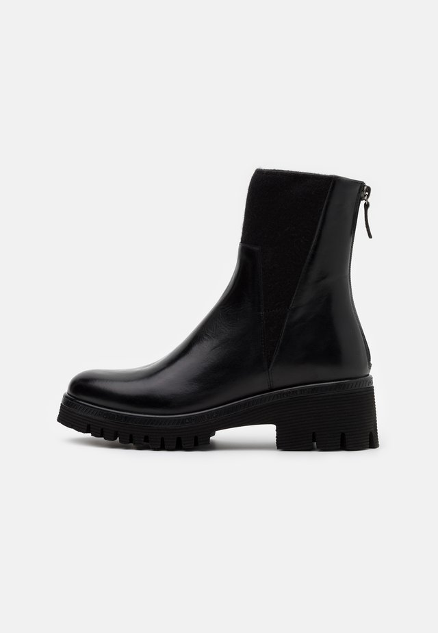 KELLY - Bottines à plateau - black