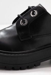 Even&Odd - Šněrovací boty - black - 2