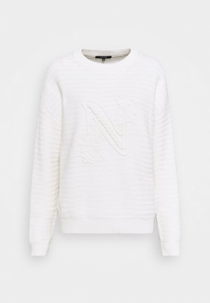 GEOMARA PULL - Pullover - star white