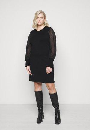 VMBELLISSIMO BACK DRESS - Jumper dress - black