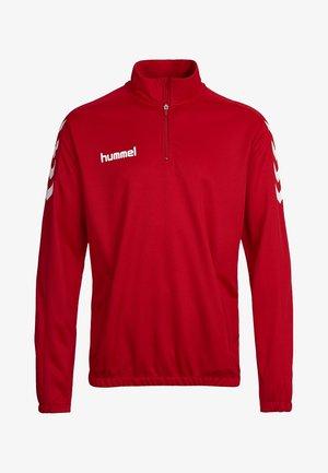 CORE ZIP - Langarmshirt - true red