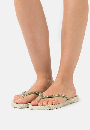 CHEERFUL - Pool shoes - moss
