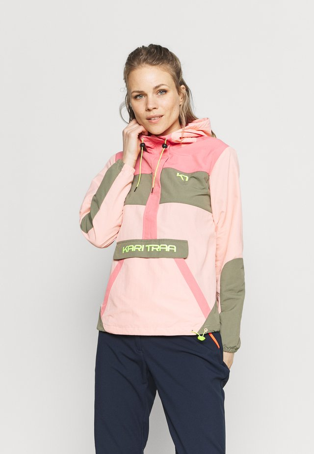 SIGNE ANORAK - Outdoor jakke - light pink
