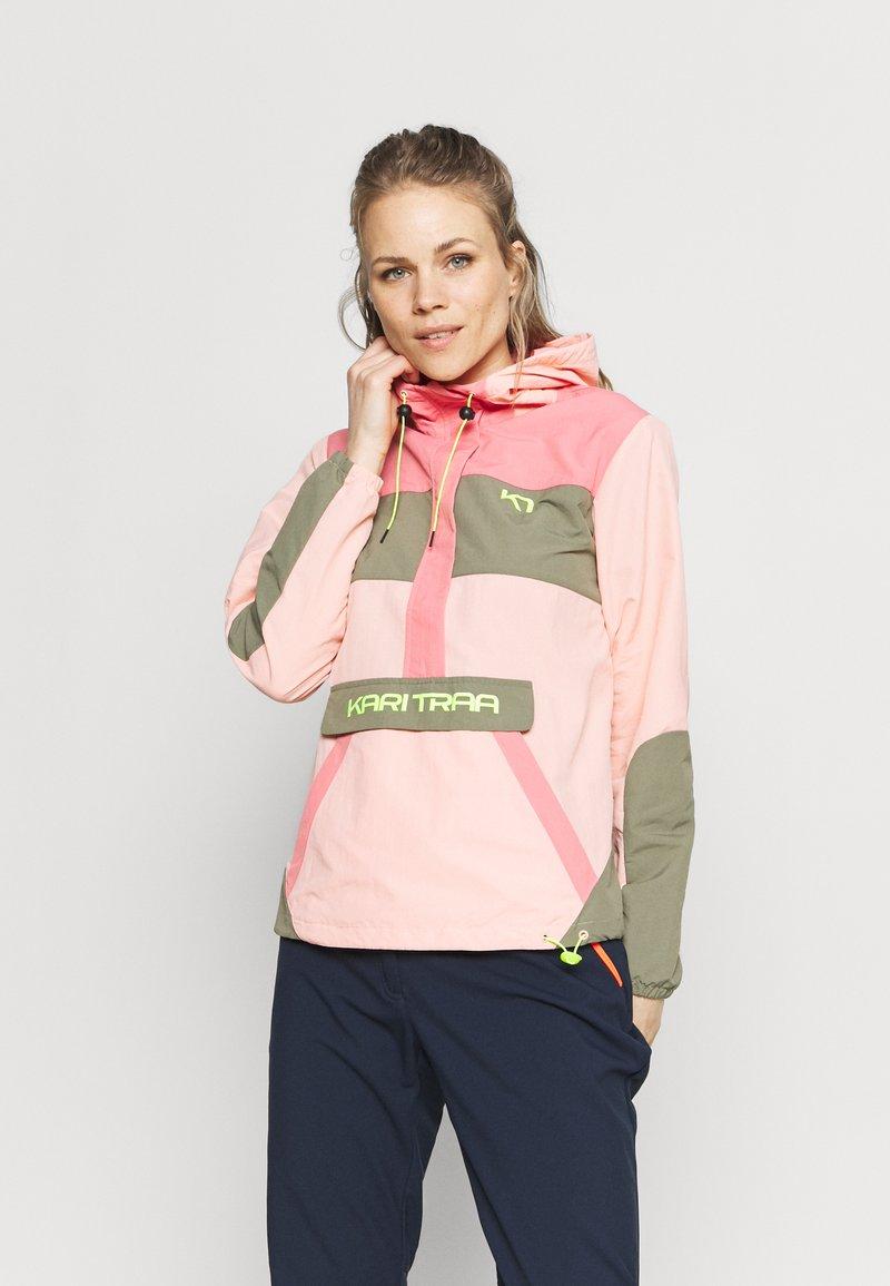 Kari Traa - SIGNE ANORAK - Outdoor jacket - light pink