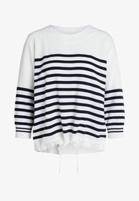 Oui - Sweatshirt - white blue - 5