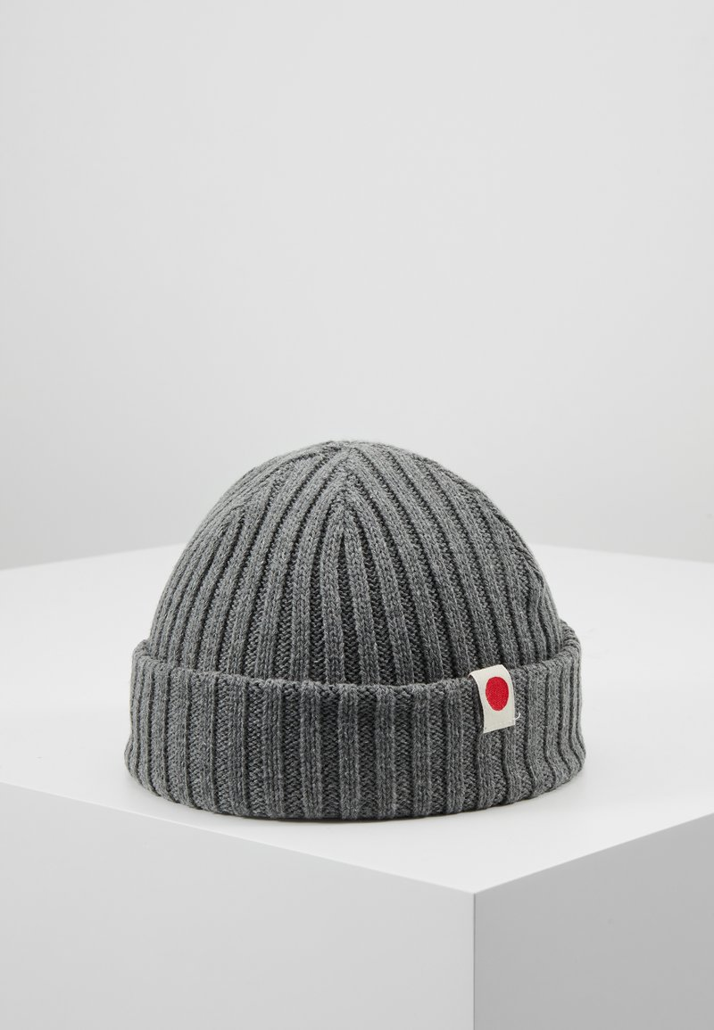 Jack & Jones - JACRDD SHORT BEANIE - Beanie - grey melange
