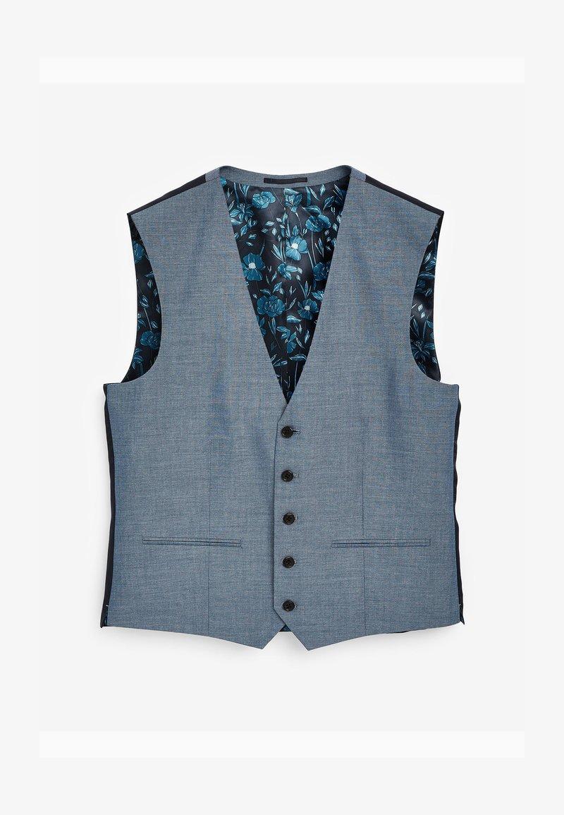 Next - Suit waistcoat - light blue