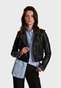 Oakwood - YOKO - Leren jas - black - 0