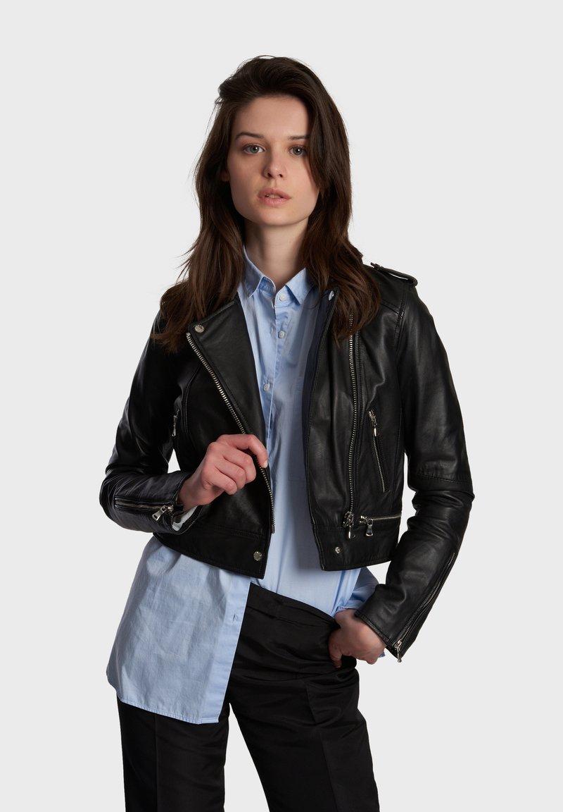 Oakwood - YOKO - Leren jas - black