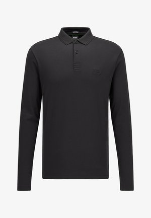 PIROL - Polo shirt - black