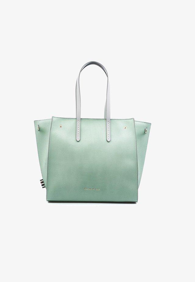 FELICE - Shopping bag - verde acqua