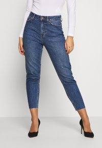 ONLY Petite - ONLEMILY - Jeans slim fit - dark blue denim - 0