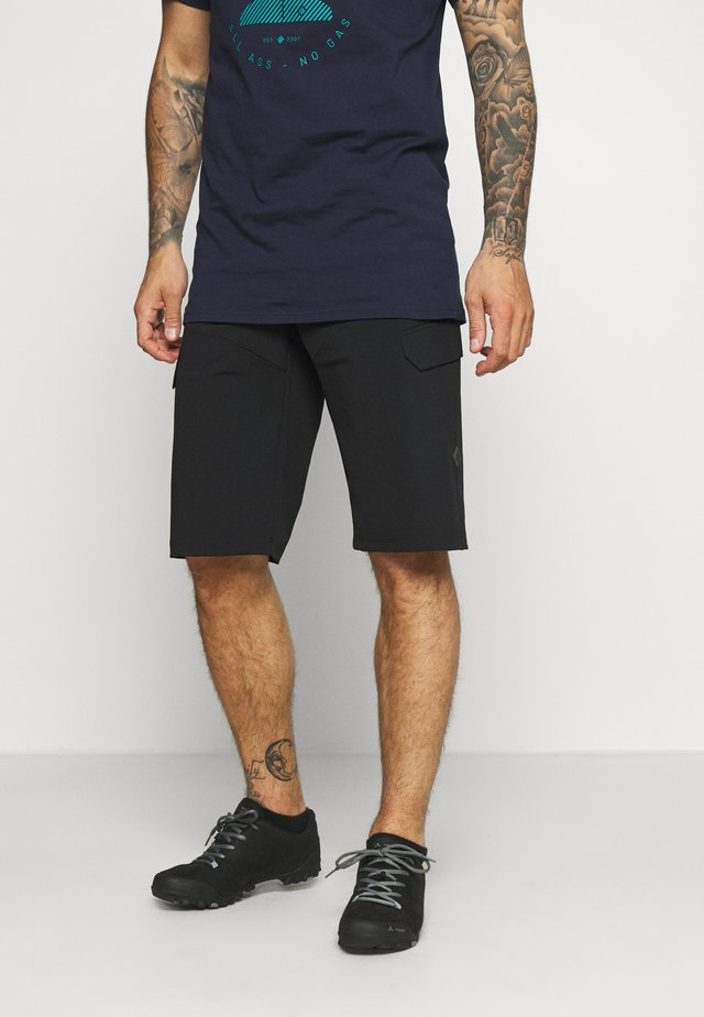 BARGUP OCEAN WASTE ECONYL® SHORT MEN - Urheilushortsit - anthracite