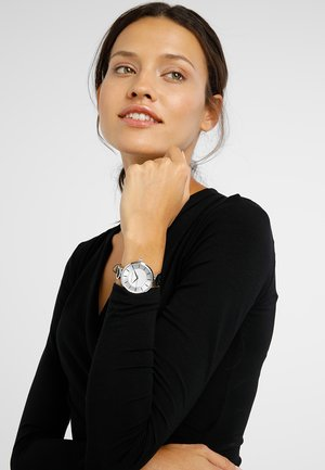 Zegarek - schwarz/silber