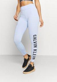 Calvin Klein Performance - WO FULL LENGTH TIGHT - Punčochy - sweet blue - 0