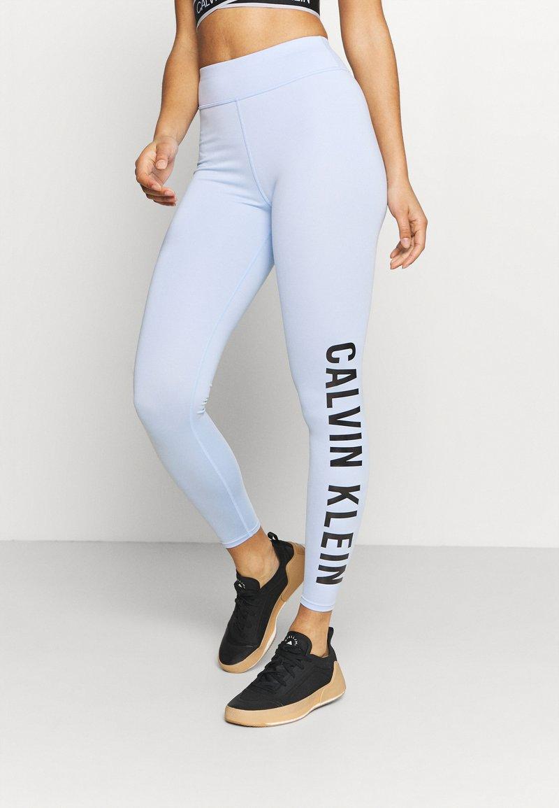 Calvin Klein Performance - WO FULL LENGTH TIGHT - Punčochy - sweet blue