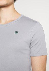 G-Star - BASE 2 PACK - Basic T-shirt - steel grey - 4