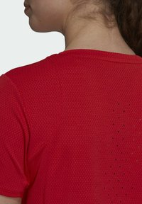 adidas Performance - HEAT RDY TEE - T-shirts med print - red - 4