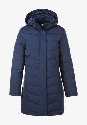 WINTERJACKE MELANGE LONG PRO-LITE - Down coat - navy blazer