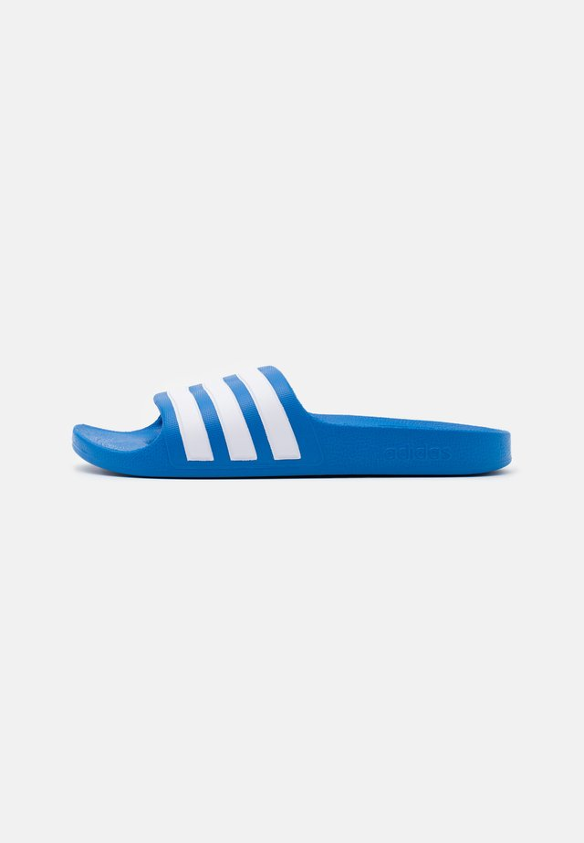ADILETTE AQUA UNISEX - Badslippers - true blue/footwear white
