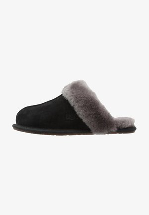 SCUFFETTE II - Slippers - black/grey